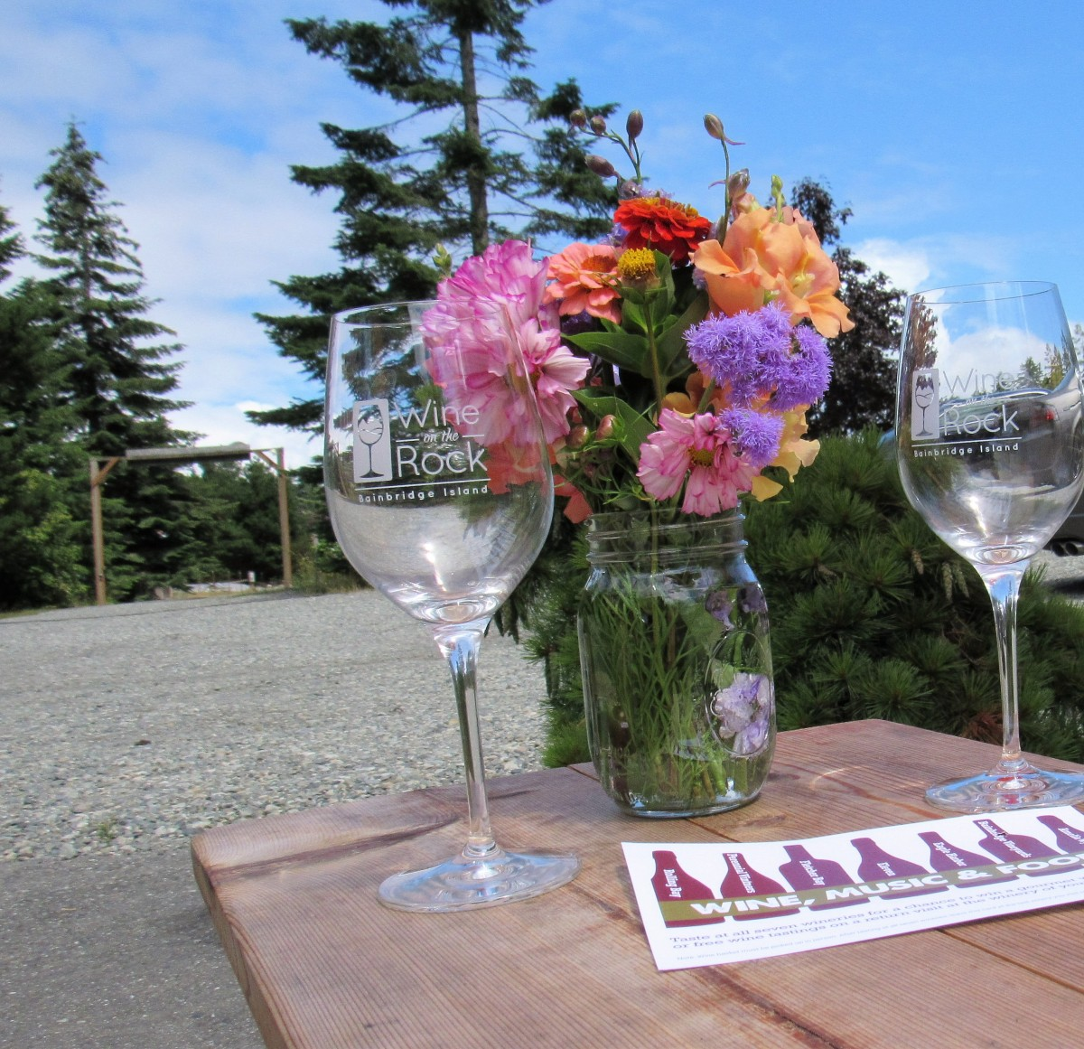 Wine On The Rock: Bainbridge Island