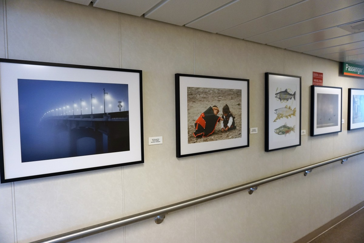 The Floating Art Galleries of the Washington State Ferries